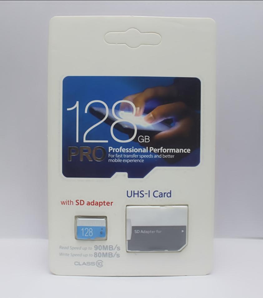 La dernière carte micro TF EVO PRO PLUS 128 Go, 64 Go et 32 Go Carte mémoire Micro SD 80 Mo / s UHS-I Class10