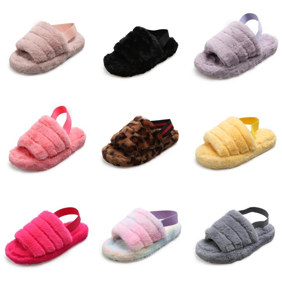 Arloneet 2020 Scarpe per bambini Pantofole per bambini della ragazza del neonato Patchwork Summer Beach Sport Soft pantofole Scarpe Sneakers # 492
