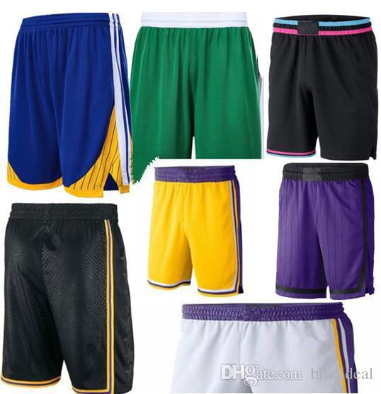 2019 Yeni Sezon Sepet Pantolon Hafif Nefes Spor Rahat Gevşek Top Pantolon Sweatpants Hızlı Kuru Spor Şort erkek Pantolon S-XXL