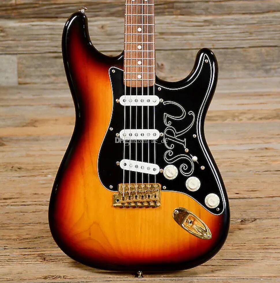 Hot Killer Minty Stevie Ray Vaughn Ocaster SRV 2008 Sunburst Chitarra elettrica Alder Body, Gold Gotoh Vintage Tuning Machines, Tremolo Bridge