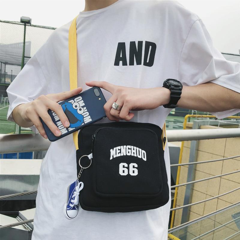 Progettazione Chao messenger bag sport casuali piccola borsa di tendenza della via mini spalla degli uomini borsa di tela gli uomini della
