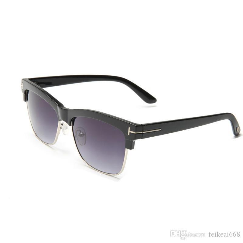 Lüks Üst Qualtiy Adam Kadın Için Yeni Moda 1936 Tom Güneş Gözlüğü Erika gözlük Orijinal Kutusu Ile Ford Tasarımcısı Ford Güneş Gözlükleri tom 66