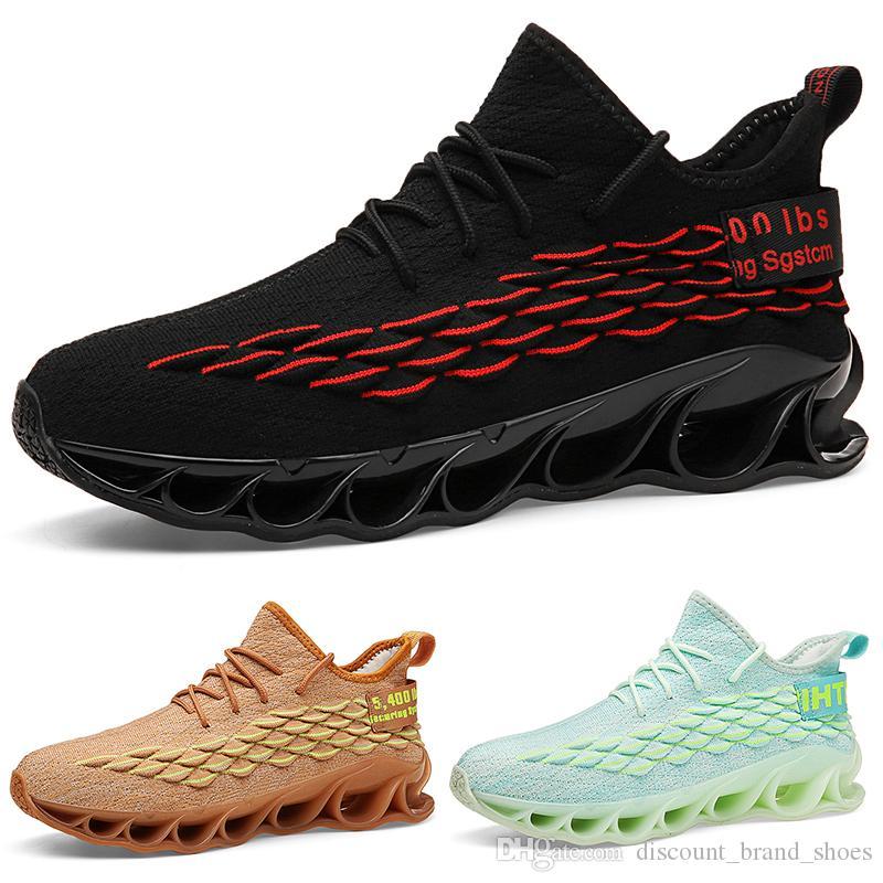Hot Vente pas cher brand6 or jaune vert clair noir coussin gris rouge jeune hommes garçon Chaussures de course bas formateurs Designer coupé sport Sneaker