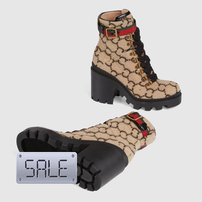 Lã Botim Ebony Botas Mulheres Lug Soled Heeled Sapatinho Eyelets Marca Botas Inverno Quente Shoes Oxfords 5S1 Shoe