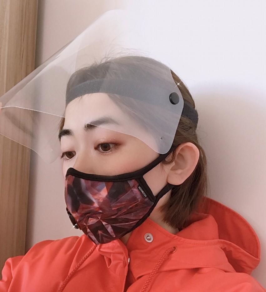 Pantalla Protectora Rostro Mascarilla facial aislamiento transparente antivaho máscara de protección visera evitar salpicaduras Protective Products FY8014