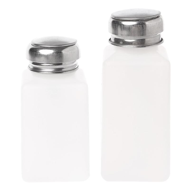 Dispenser per pompa per unghie vuoto Dispenser Acetone Polish Remover Bottle Bottle Liquid