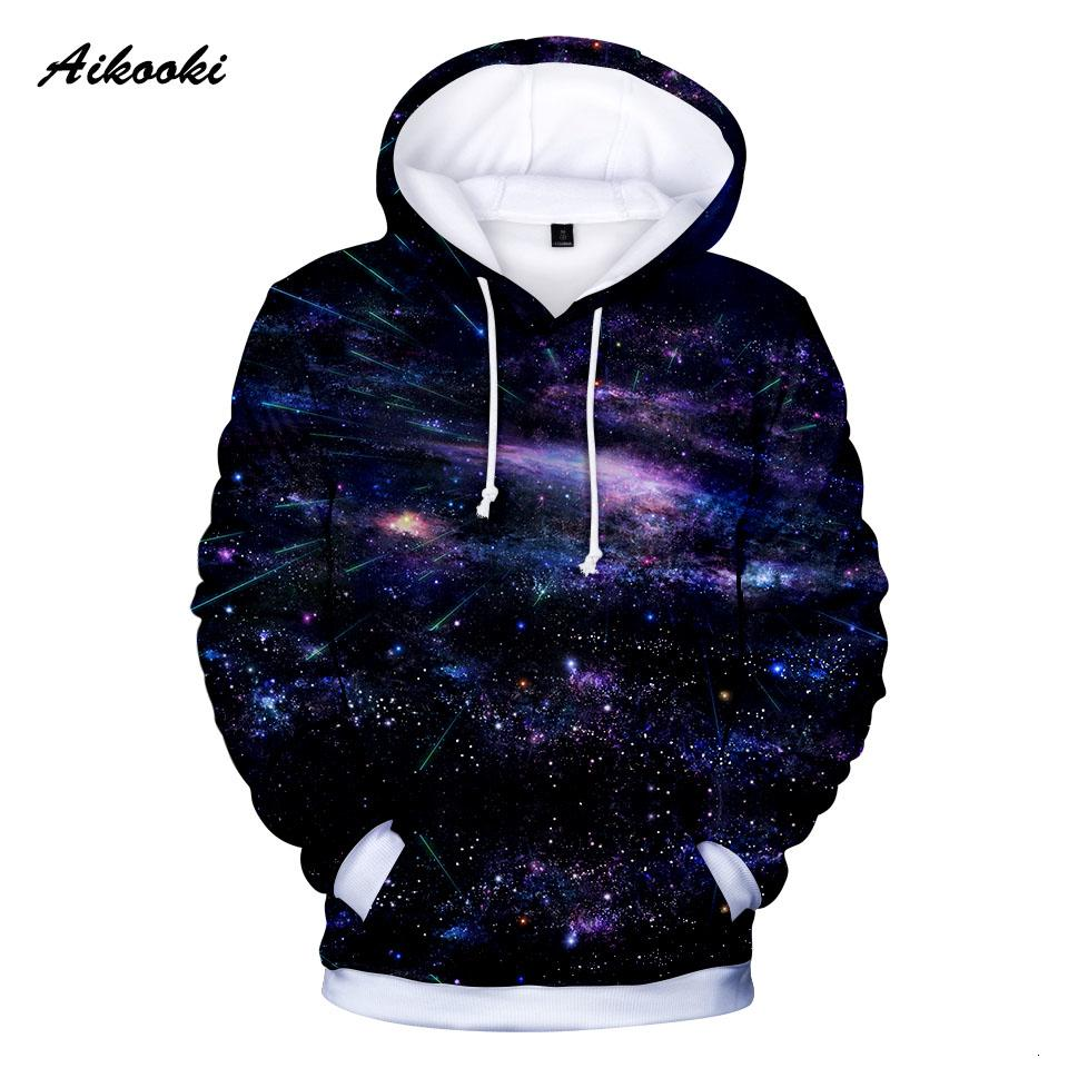 New Space Galaxy Hoodies Men/Women Sweatshirt Hooded 3D Brand Clothing Cap Hoody Printing beautiful Cool Galaxy Jacket Clothing MX191121