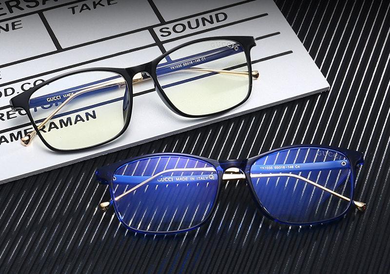 luxo- Homens Light Blue Óculos Mulheres Limpar Lens Sport Sunglasses Mens Óculos Lentes Womens Sun olho de vidro Sunglass SGC143