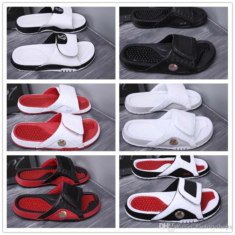 Yeni 2019 tasarımcı sandalet Erkek 13 XIII terlik sandalet Yaz Düz Kalın Lüks Ayakkabı kadın Plaj Terlik Flip Flop Boyutu EUR 40-47