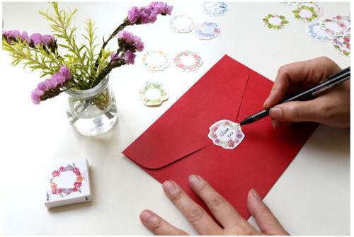 45pcs Belle Autocollants de Noël de bricolage et d'artisanat de décoration Scrapbook Scrapbooking Autocollants Stamping