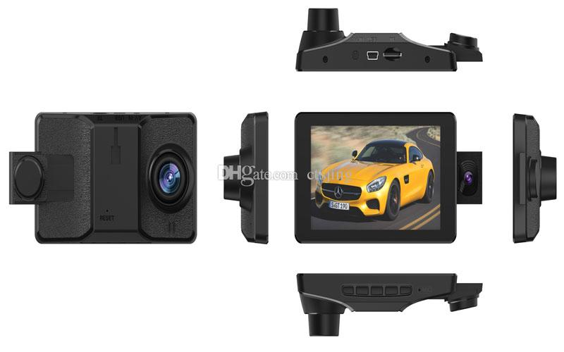 CT906 Three lens HD 1080P car DVR / CT906 hidden car black box camera/ CT906 HD dash camera with three cameras