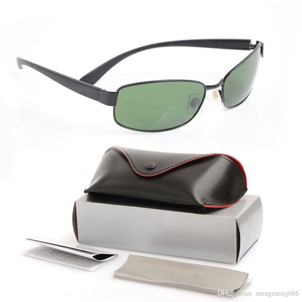 new Arrival Sunglasses Fashion Style 3364 Designer Sunglasses men's glasses women's Sun glasses Glass Lens Unisex Sun glasses
