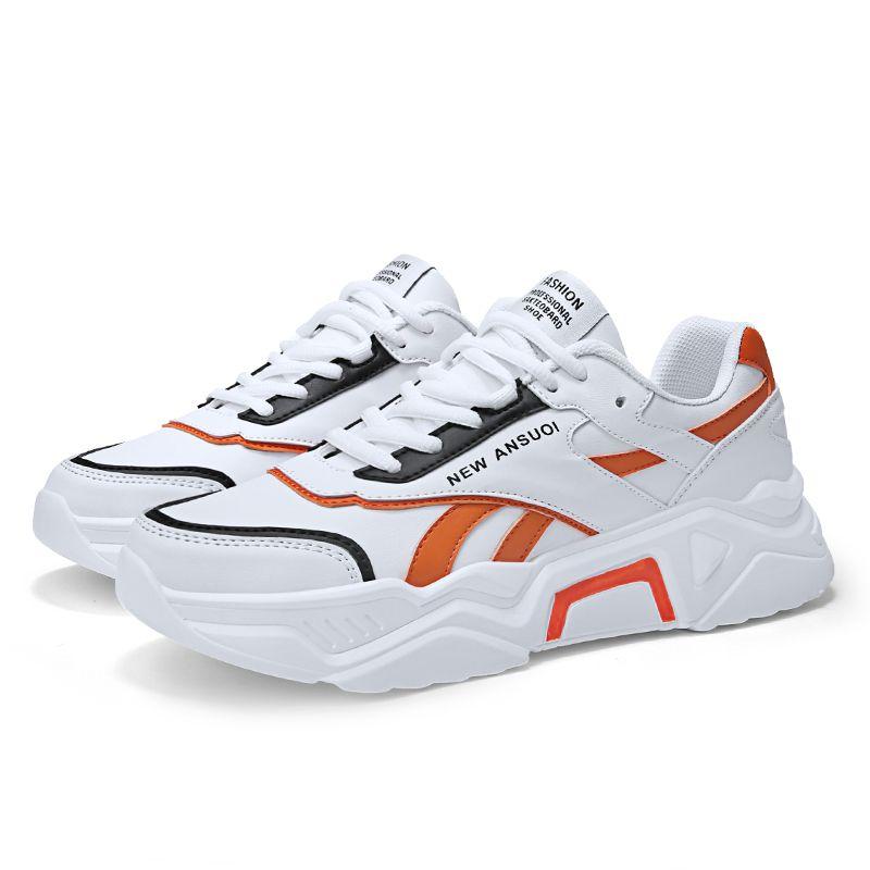 platform white runners