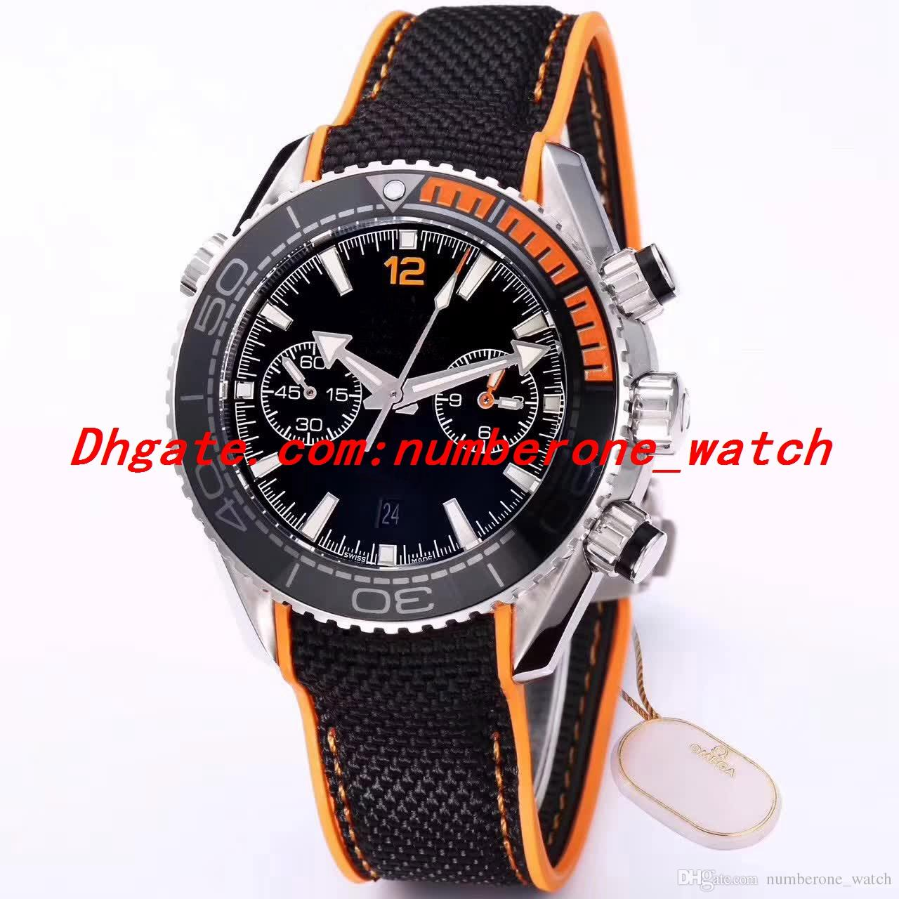 Best Edition BF 45.5mm Planet 232.90.46.51.03.001 CAL.9900 Movement Chronograph Ceramic Bezel Automatic Mens Watch