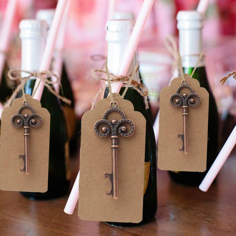 Cadeaux de mariage pour invités cadeaux cadeaux cadeaux FÊTE FAVORES PERSONNES DE BOUTEILLE Squelette + Tags Faveurs de mariage et cadeaux RRA2061