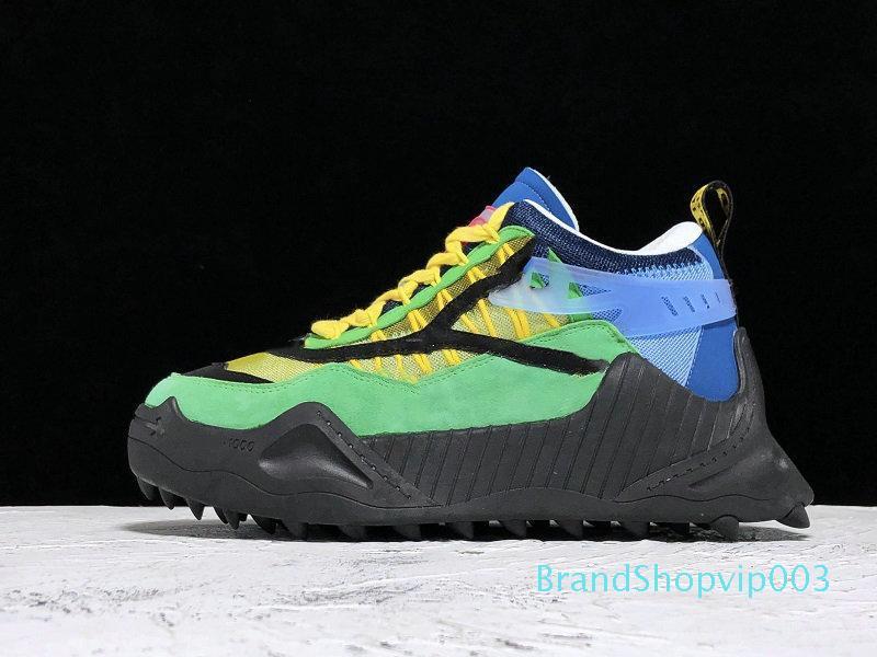 2019-2020 nuovo arrivo superiore Off C O ODSY-1000 Sneakers Bianco Nero moda Scarpe di lusso Dimensioni Sneakers Trainers unisex 35-44 C03