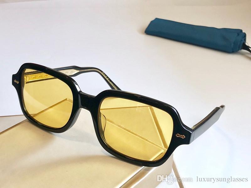 0072 Новые моды солнцезащитные очки с ультрафиолетовой защитой для мужчин и женщин Старинные квадратные рамки Популярное топочное качество поставляется с корпусом классические солнцезащитные очки
