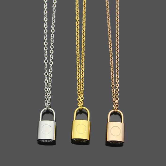 HOT моды блокировки кулон Буквица ожерелье браслет серьги для мужской и женской партии любителей свадебный подарок из нержавеющей стали комплект ювелирных изделий
