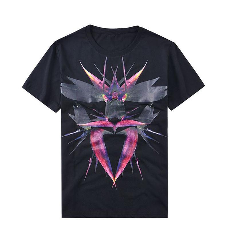 A estrenar forme hombre del diseñador Camisetas para hombre transpirable de algodón de manga corta Hombres Mujeres Hip Hop camiseta camisetas Negro Blanco 2 colores