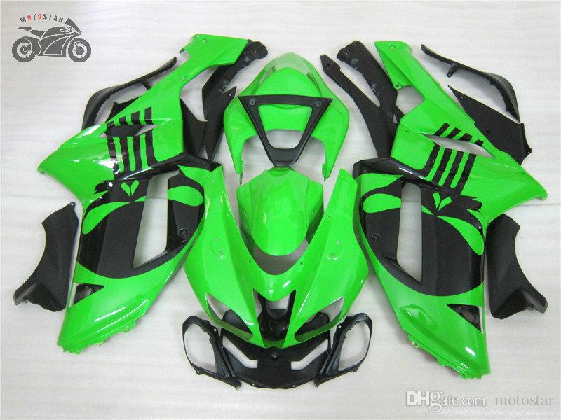 Personnaliser les kits chinois carénages pour Kawasaki 2007 2008 Ninja ZX6R ZX636 07 08 ZX6R 07-08 pièces de carénage de réparation de carrosserie de moto