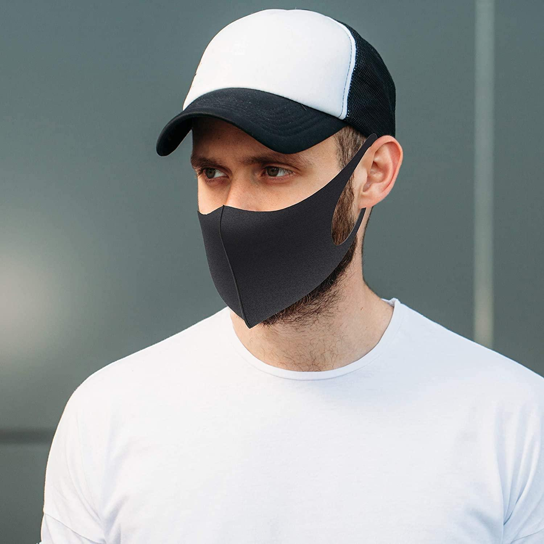 Маски для лица Дышащей Удобная маски 2ply безопасности с упругим Earloops для ежедневной защиты от загрязнения воздуха пыленепроницаемого