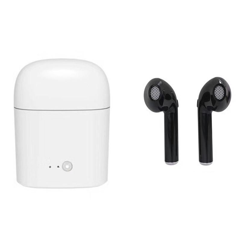 I7 Twins Wireless Bluetooth Earphones Stereo Music Headphone Set Earpiece Retail Package In Ear Music Earbuds Set Wireless Headphones Mini Cellphone Headsets Earbuds For Cell Phones From Qwe26522218 7 32 Dhgate Com