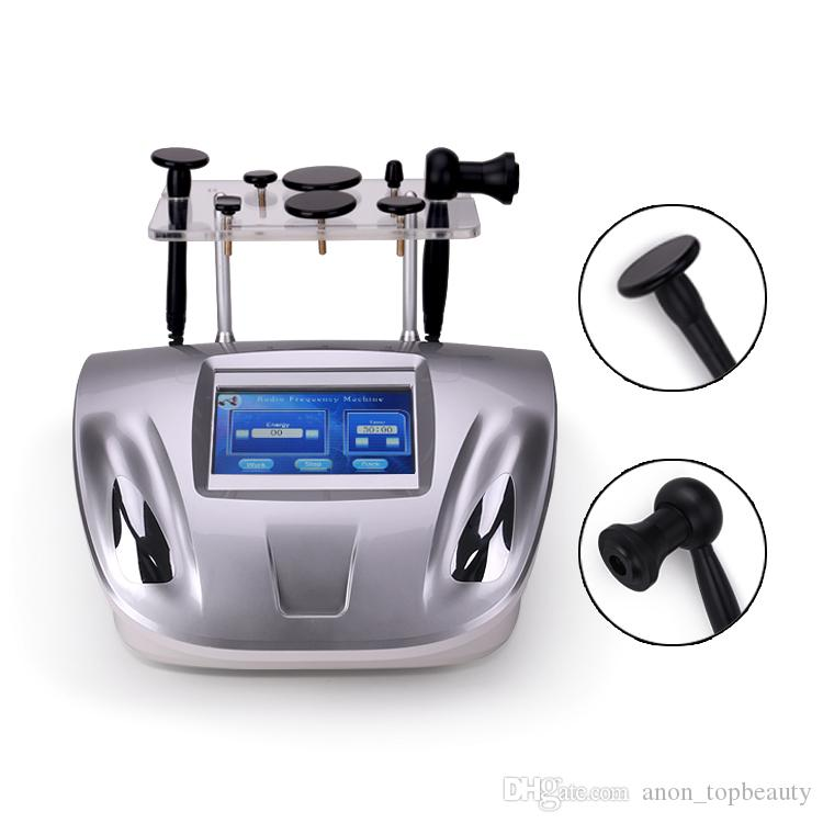 Monopolar RF التخسيس آلة لتشكيل الجسم التصريف اللمفاوي تردد الراديو تشديد الجلد معدات التجميل صالون استخدام