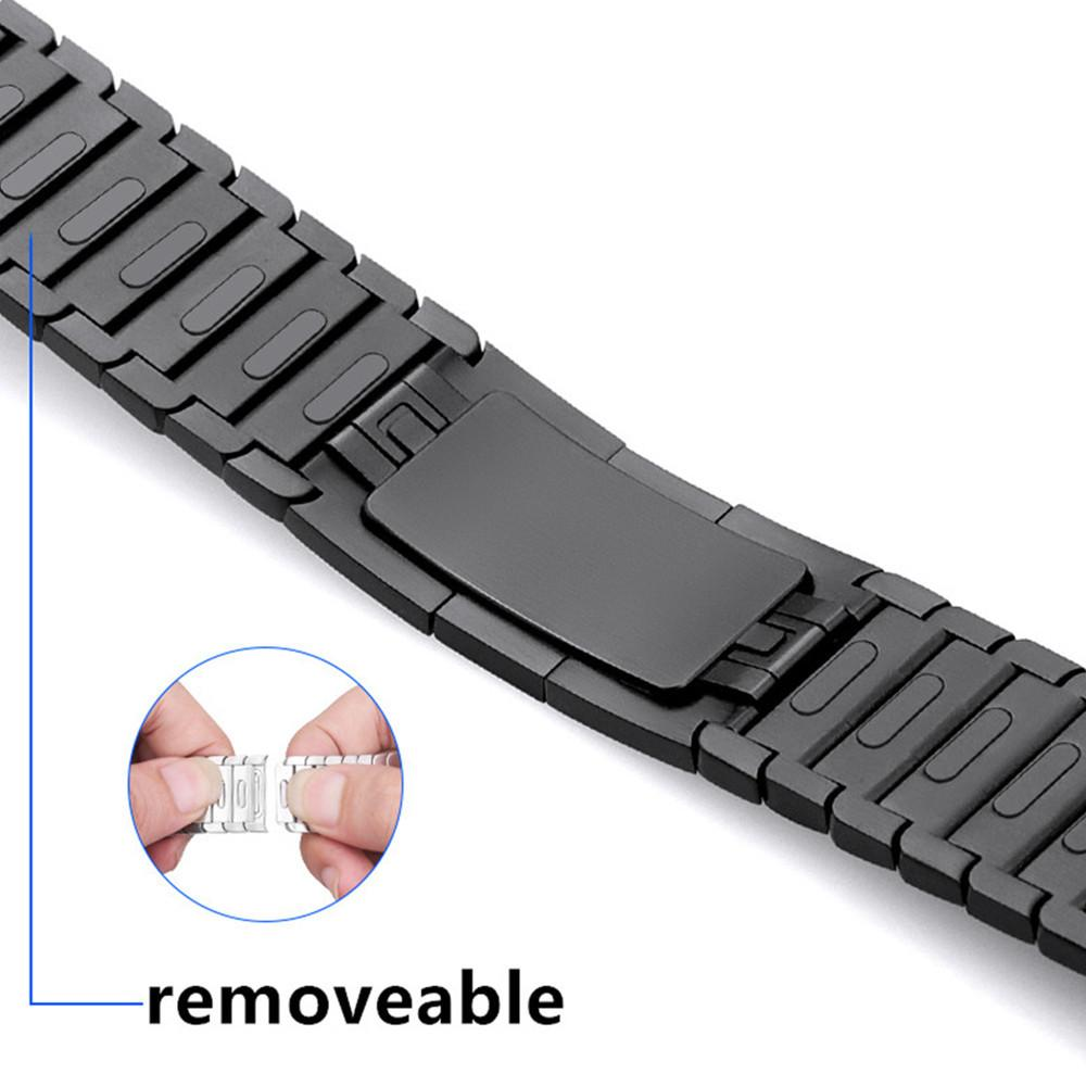 strap for 42mm 38mm band 44mm 40mm Stainless Steel link bracelet 316L watchband gen.6 Watch 5 4 Y200414
