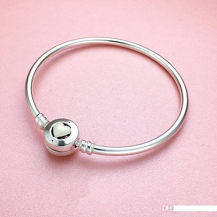 Pink Box 3mm Solid Stainless Steel Cuff Bracelet Always In My Heart