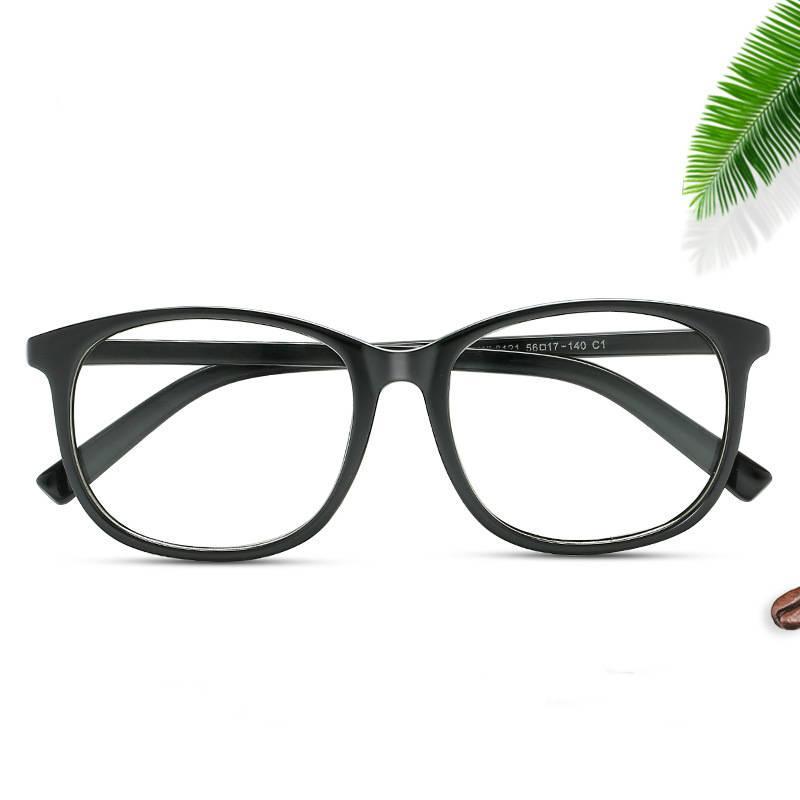 2019 New Oval Myopia Glasses Frame Women Clear Lens Glasses Eyeglasses Frames Plain Glass Spectacles Eye Glasses Frame For Men