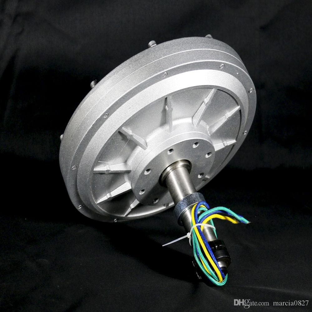 2020hot sale500W24v 48v 96v oreless ac Rare Earth Permanent Magnet Generator Low RPM 150rpm/200rpm/350rpm 0.5kw Maglev Generator