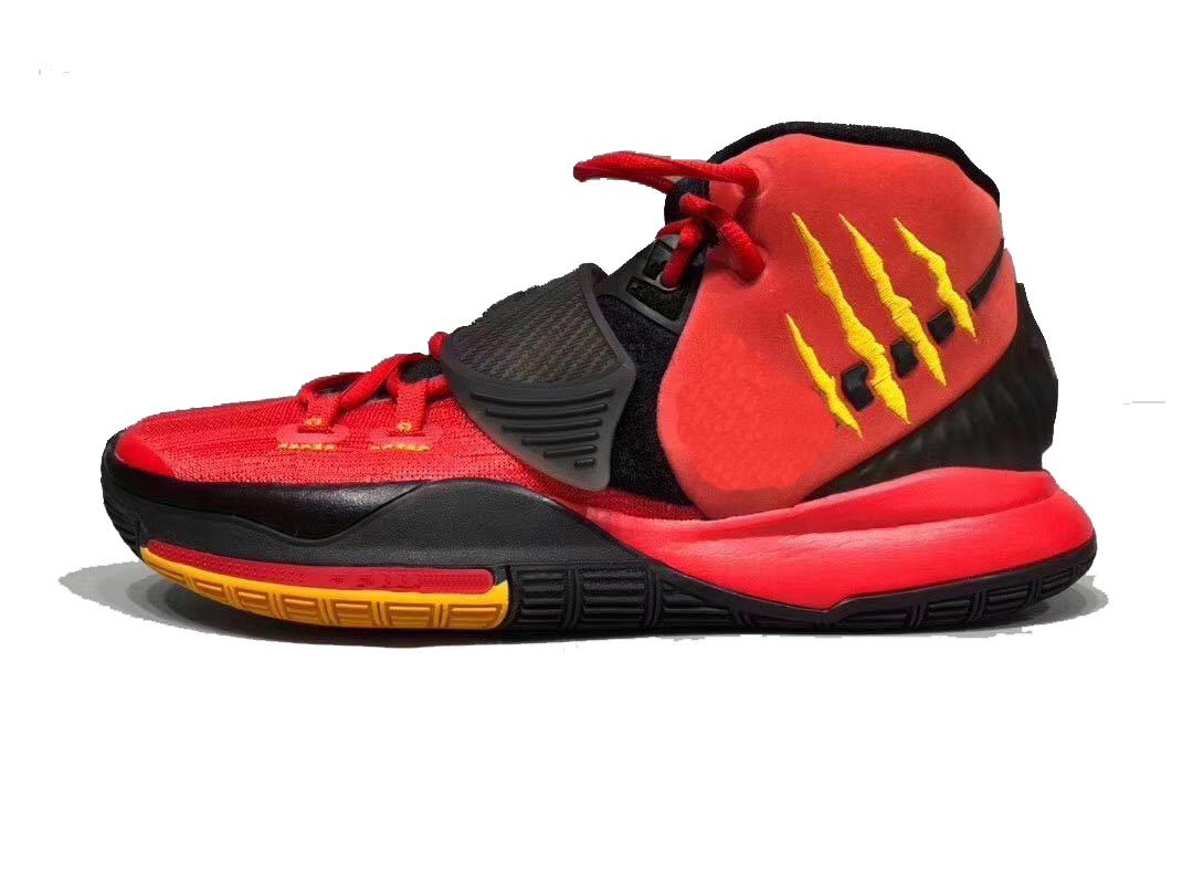 حار كيري 6 بروس لي الأحذية مبيعات شحن مجاني مامبا عقلية الرجال النساء أحذية كرة السلة مع مربع انخفاض الشحن US4-US12