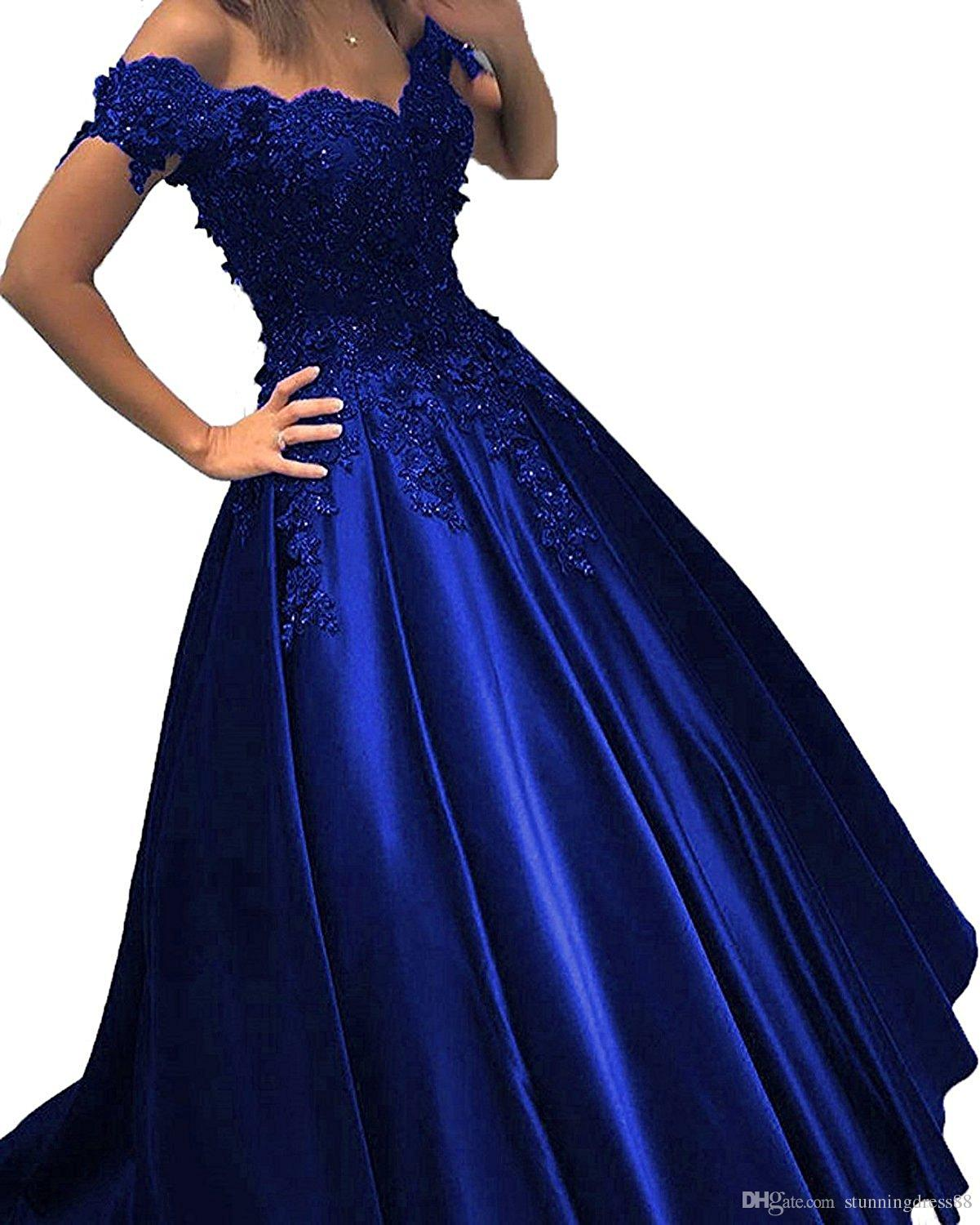 Royal Blue Gown Buy Clothes Shoes Online