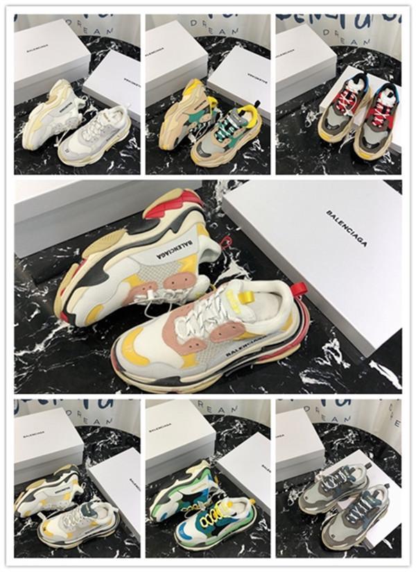 balenciaga  2020 Speed Trainer Designer di lusso partito scarpe Nero Bianco Rosso calza altezza scarpe da donna di moda Mens Boots Triple Nero Casual Scarpe
