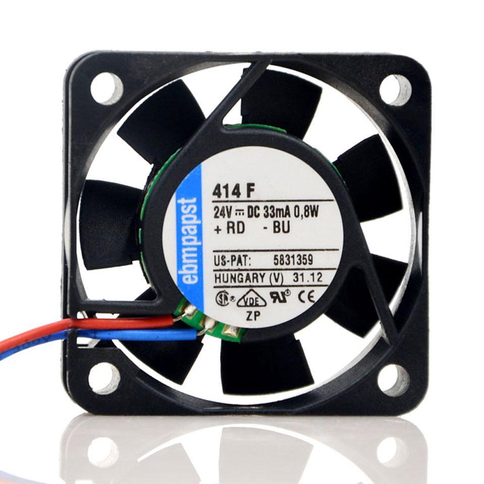 TYP 414F 24V 0.8W 4CM 4010 inversor control industrial ventilador de refrigeración 2Lines 24V 33mA ventilador de refrigeración
