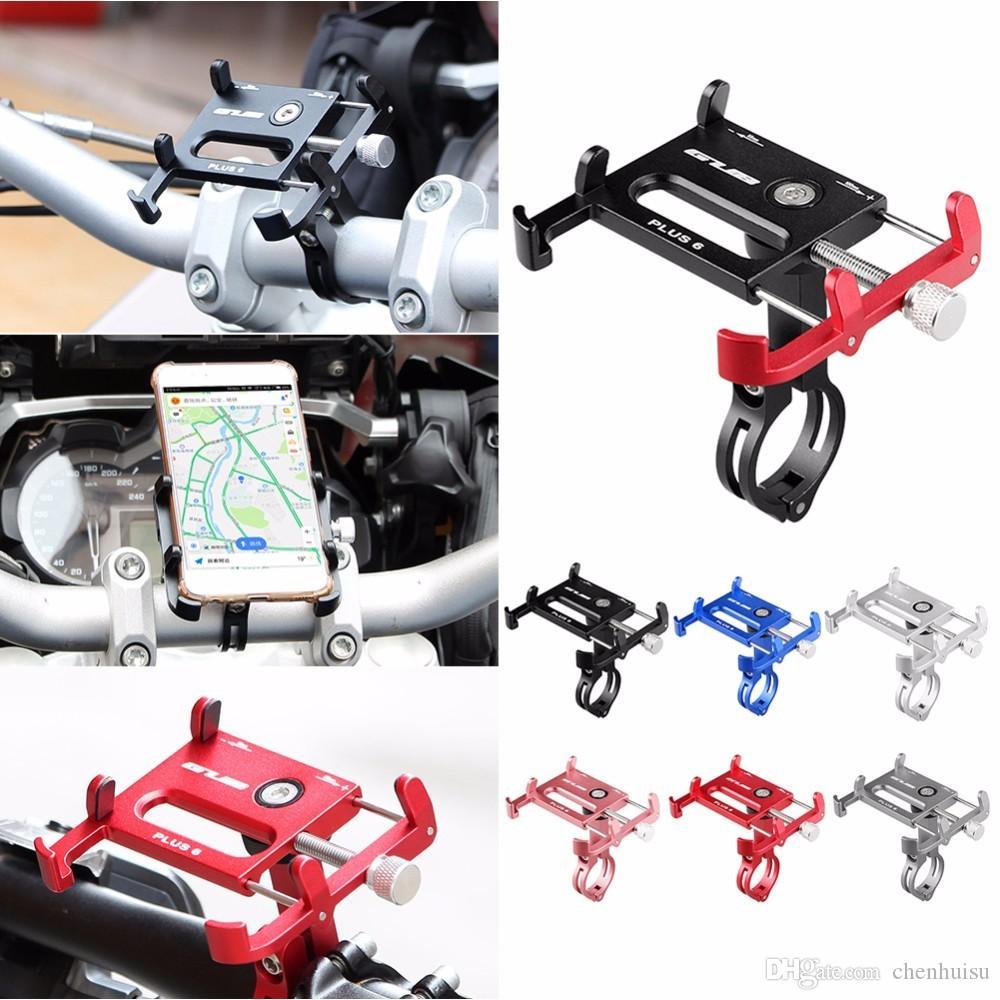 Bisiklet Gidon Bisiklet Aksesuar GUB Artı 6 Alüminyum Alaşım MTB Bisiklet Bisiklet Telefon Tutucu Motosiklet Desteği GPS Tutucu