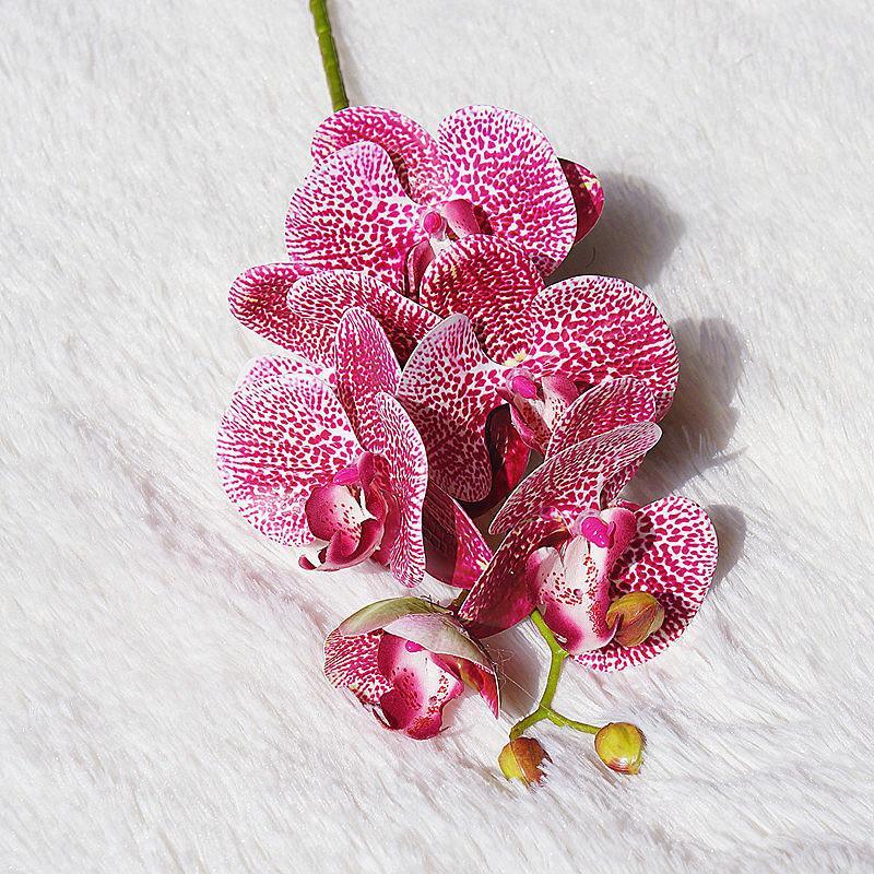 ZOLLOR новый Поддельный фаленопсис искусственный цветок один цветок декора гостиной пол шелк украшение дома свадьба