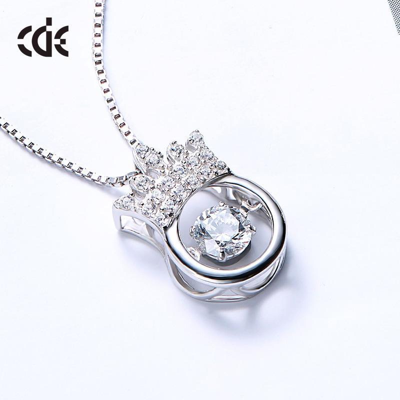 Nuovo S925 Sterling Silver Crown intelligente collana giapponese e coreano con tutti i tipi di temperamento