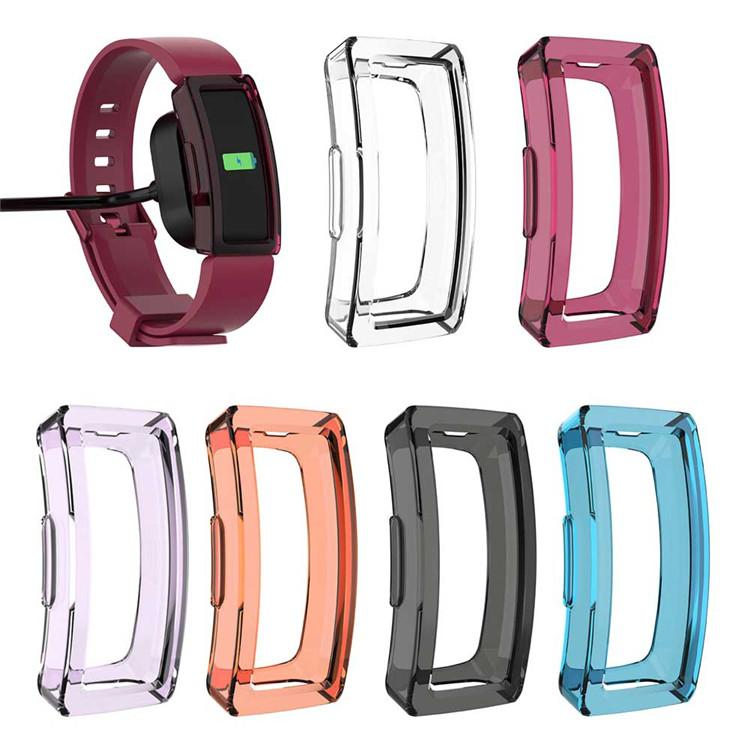 High Quality TPU Watch Case Cover Shell for Fitbit Inspire / Inspire HR Smartwatch Protector Skin Frame Strap Soft Accessories
