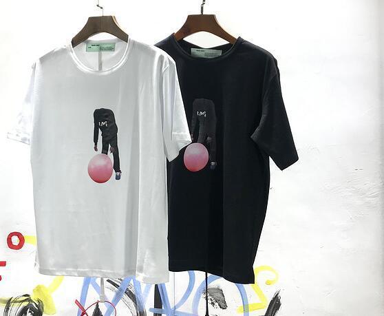 Mode-Marke für Männer Frauen-T-Shirt Frühjahr VIRGIL Selbstauslöser Tennis-T-Shirt für Männer Skateboard Street T-Shirt Hip-Hop-Tops