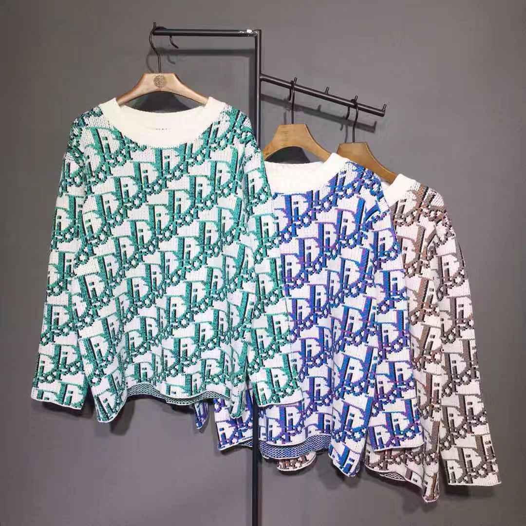 20ss 프랑스어 스웨터 최신 폭발 스타일의 봄 여름 전신 편지 프린트 T 셔츠 고품질의 패션 서부 스타일의 검은 망