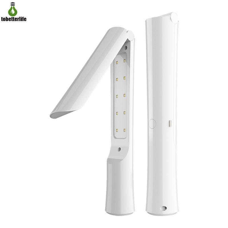 Ricaricabile disinfezione UV sterilizzatore LED portatile 20LED UVC Luce portatile USB ultravioletta germicida lampada per Home Office