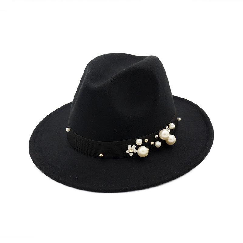 Fedora Hat Wedding Dress Formal MEN WOMEN WHITE CAP FASHION SUMMER VALENTINES