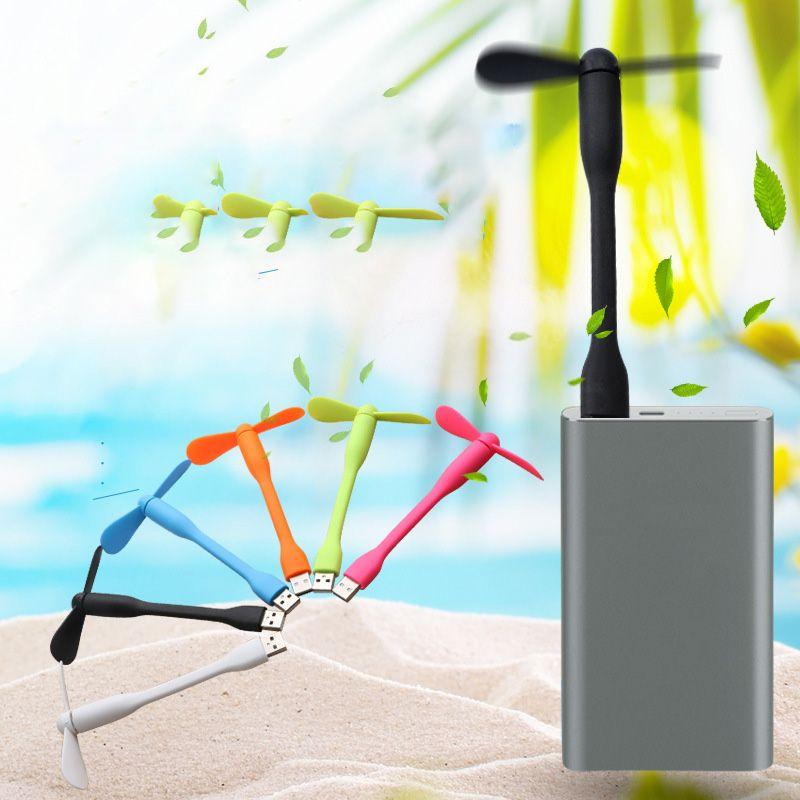 Usb البسيطة مروحة الهاتف الرياح القوية أبل أندروز هواوي مروحة الهاتف المحمول 6 ألوان المحمولة الصامت صديقة للبيئة السفر حمل مروحة صغيرة BH1834 ZX