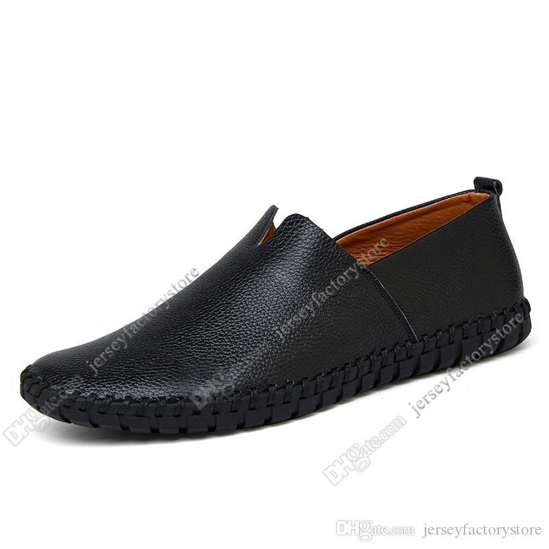 Nouveau chaud Fashion 38-50 Eur nouvelles chaussures hommes en cuir des hommes couleurs Candy chaussures de sport britanniques gratuit Envoi Espadrilles soixante-douze