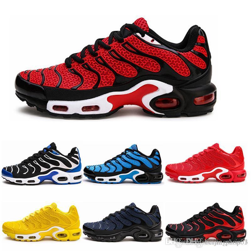 nike air max NEW الساخن بيع الألوان بالجملة عالية الجودة رجال حار بيع TN رياضة الجري الأحذية حذاء رياضة مدرب أحذية حجم 7-12 BJ