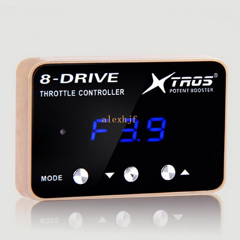 TROS 8-привод автомобиля Электронный дроссель контроллер чехол для Nissan Murano Teana Qashqai X-TRAIL 2008+ и т.д., Комфортное / Спорт / режим Гонки