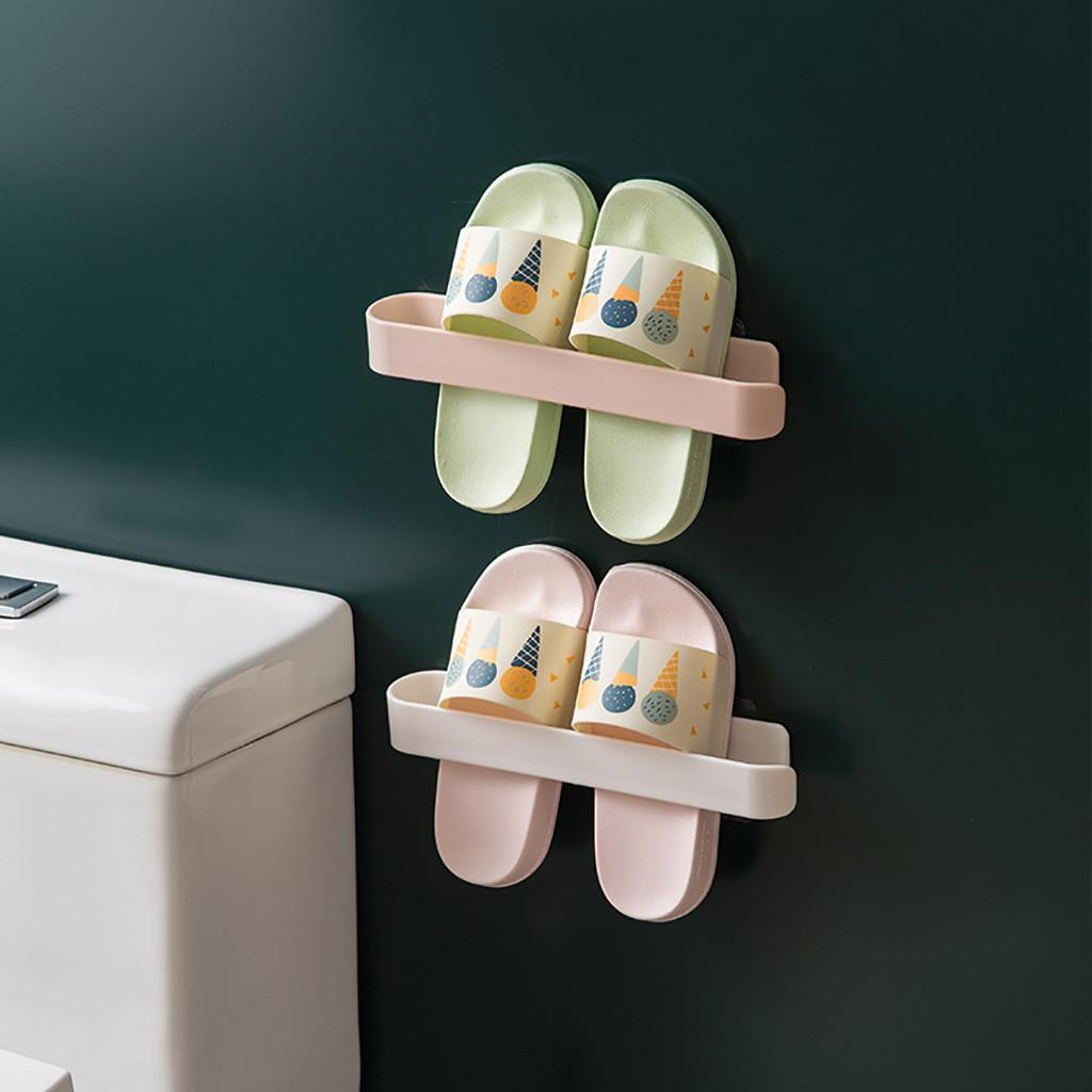 Wall Mounted Bathroom Towel Cleaning Cloth Rack Holder Hanger Useful Shelf Stand Hotel Bathroom Shelves Shelf Storage Hanger