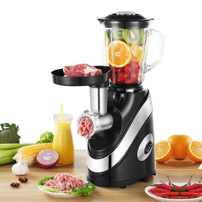 LIVRAISON GRATUITE 220 V / 500 W Cuisson polyvalente machine machine lavements de viande de broyage Blender Hachoir Juicer Robot de cuisine Mixer