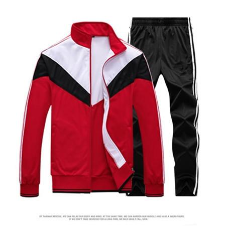 Tute moda per famiglia Cappotto Pantalone da uomo Designer Tute Giacca a vento + Pantaloni Sport Correre Set College High Street Style Kit con QSL198174